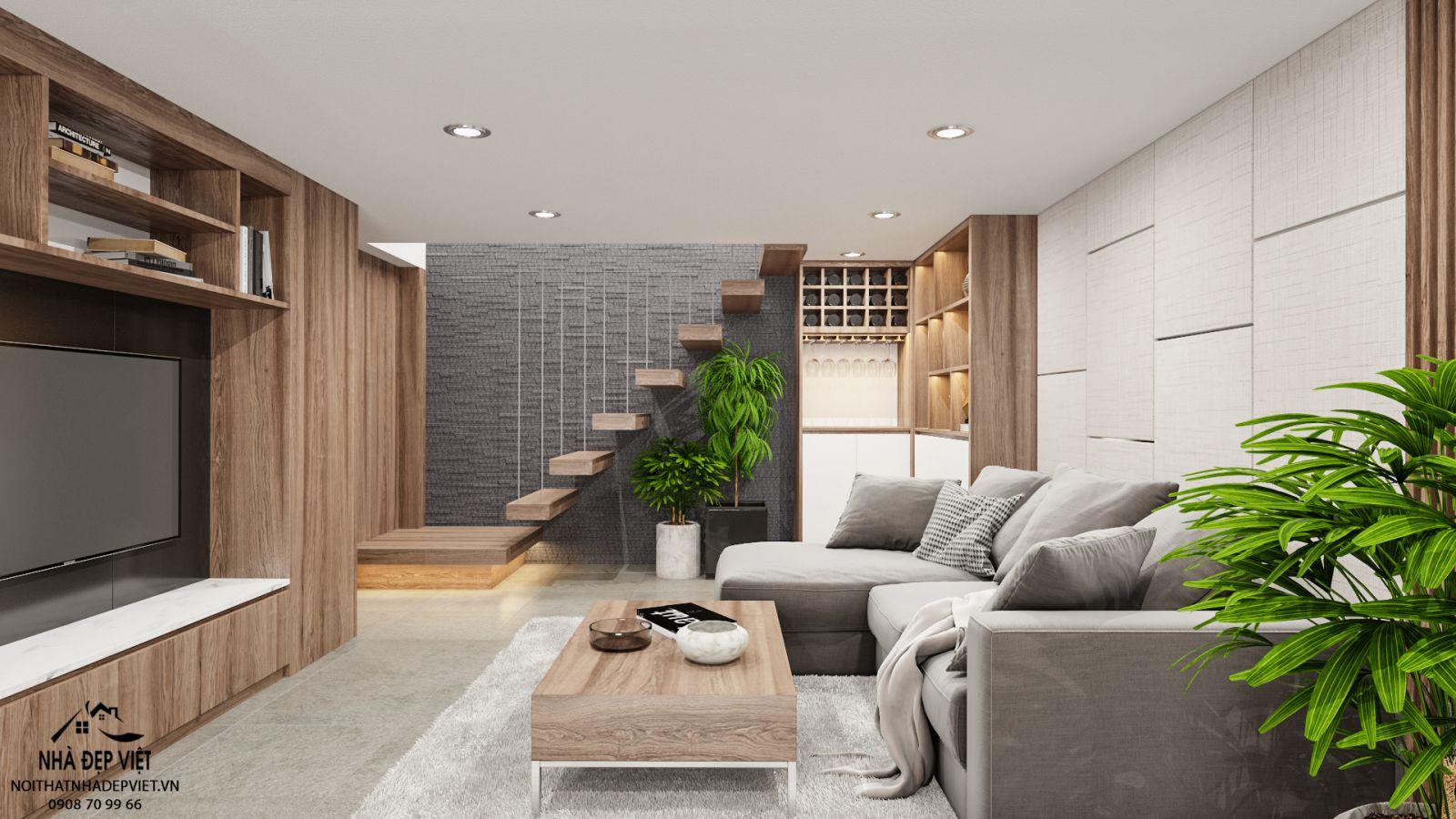 thiết kế nội thất nhà phố 3